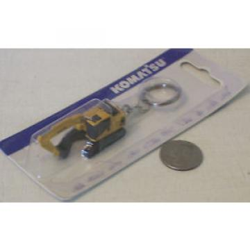 Komatsu Haiti  Construction Diecast Toy Keychain (New in Package) FAST SHIPPING / USA