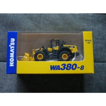 NEW Oman  Komatsu Official Wheel Loader diecast model WA380-8 1/87 F/S from JAPAN