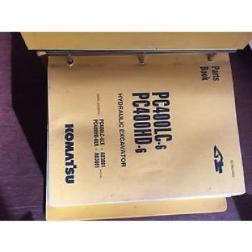 KOMATSU Ethiopia PC400 400HD-6  EXCAVATOR PARTS CATALOG BOOK MANUAL BEPB4006C0