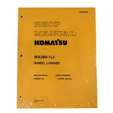 Komatsu Cuba WA380-1LC Wheel Loader Service Shop Manual