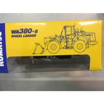 1/87 Luxembourg  Komatsu Official WA380-8 Wheel Loader diecast model rare item