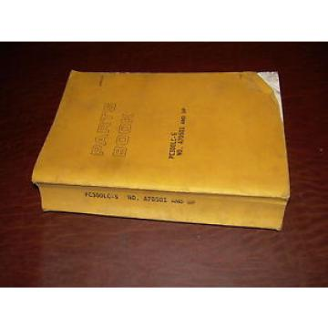 KOMATSU Gambia  300 PC300 -5  EXCAVATOR PARTS CATALOG BOOK MANUAL S/N A70501