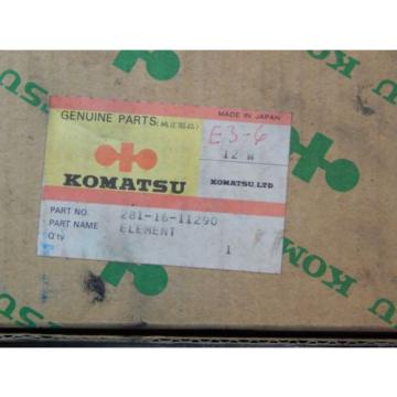Komatsu Moldova, Republic of  281-16-11290 Hydraulic Oil Filter OEM NIB