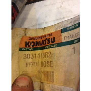 New Bulgaria  Komatsu Genuine Parts Hydraulic Hose 3031415R2 Warranty! Heavy Equipment