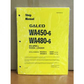 Komatsu Botswana  Galeo WA450-6,WA480-6 (KA Spec.) Wheel Loader Shop Service Repair Manual
