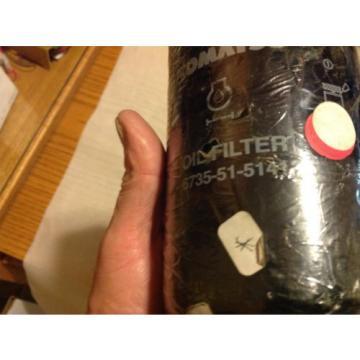 Komatsu Malta OEM Oil Filter 6735-51-5141, 6735-51-5144, SET OF 3