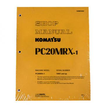 Komatsu Moldova, Republic of  Service PC20MRX-1 Shop Repair Manual