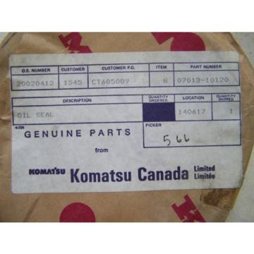 Komatsu Botswana  D80-85-150-155 Final Drive Seal - Part# 07013-10120 - Unused in Package