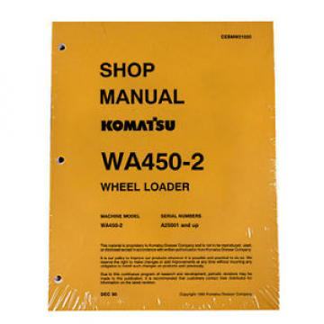 Komatsu Guyana  WA450-2 Wheel Loader Service Repair Manual