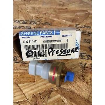 6732-81-3111 SamoaWestern Genuine Komatsu Oil Pressure Sensor