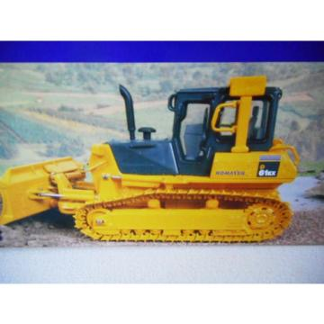 Komatsu Guyana  D61EX Bulldozer with Metal Tracks Scale Models Die Cast Licenced