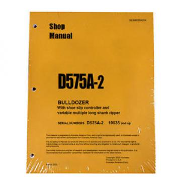 Komatsu Andorra  D575A-2 Service Repair Workshop Printed Manual #2