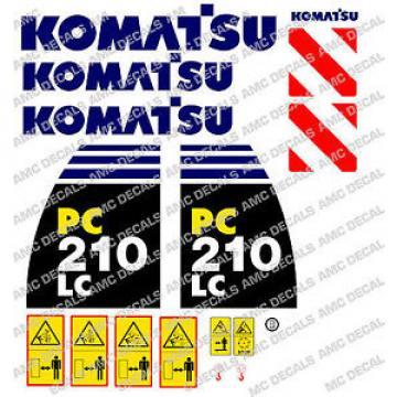 KOMATSU Moldova,Republicof pc210lc -8 Escavatore Adesivo Decalcomania Set