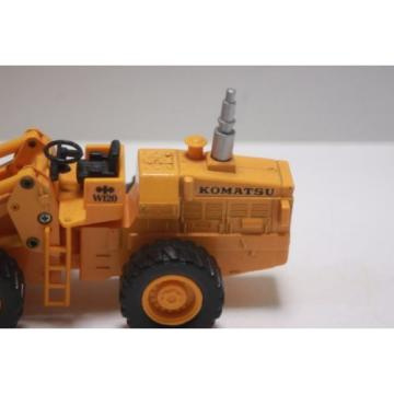 Komatsu Russia  wheel loader W120  Diapet Made in Japan  1/50 used  Yonezawa Toys