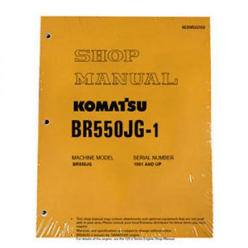 Komatsu Belarus  Service BR550JG-1 Mobile Crusher Repair Manual