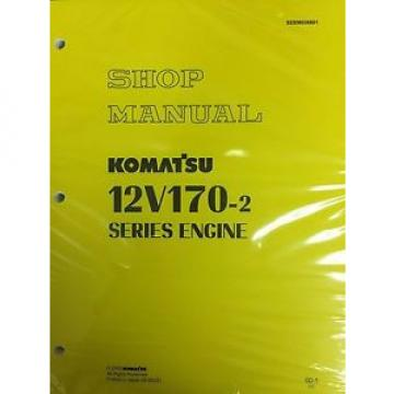 Komatsu Luxembourg  12V170-2  Series Engine Factory Shop Service Repair Manual