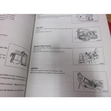 Komatsu Laos CD110R-2 Crawler Carrier Operation & Maintenance Manual s/n 1501-