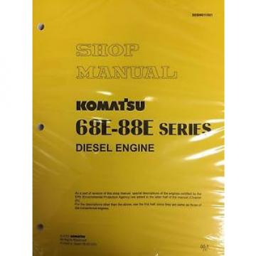 Komatsu Andorra  68E-88E Series Engine Factory Shop Service Repair Manual