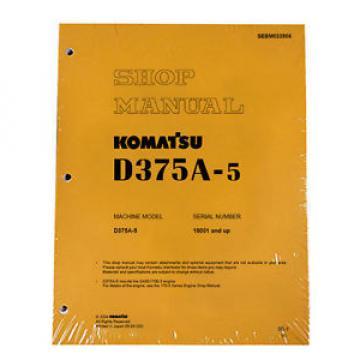Komatsu Liechtenstein D375A-5 Service Repair Workshop Printed Manual