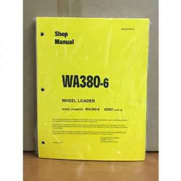Komatsu Egypt  WA380-6 Wheel Loader Shop Service Repair Manual (H65001 & up)