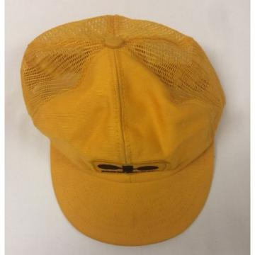 Vintage Liberia  Komatsu Heavy Duty Machinery Mesh Trucker Hat Cap Construction