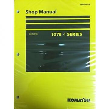 Komatsu Uruguay  107E-1 Series Engine Factory Shop Service Repair Manual