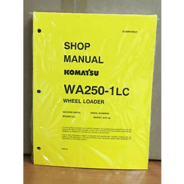 Komatsu Cuba  WA250-1LC Wheel Loader Shop Service Repair Manual
