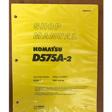 Komatsu Andorra  D575A-2 Service Repair Workshop Printed Manual