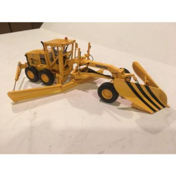 First Haiti  Gear Conrad NZG Komatsu GD655 motorgrader with Snow Wing and V plow