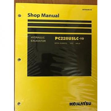 Komatsu Niger  PC228USLC-10 Service Repair Printed Manual Shop