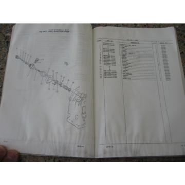 Komatsu Guyana PC02-1A Hydraulic Excavator Parts Book (English)