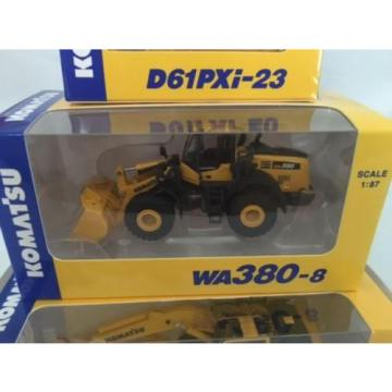 Komatsu Uruguay  Official 1/87 PC210LCi-10 Excavator, D61PXi-23 ,WA380-8 Shareholder LTD