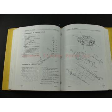 Komatsu Honduras  WA400-1 wheel Loader service shop repair manual SEBM04240106