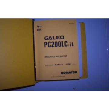Komatsu Belarus  PC200LC-7L Parts Manual