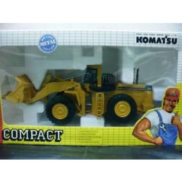 WOW United States of America  EXTREMELY RARE #198 Komatsu WA 800 Wheel Loader Yellow 1:50 Joal
