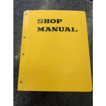 Komatsu Vietnam  Shop Manual Hydraulic Excavator PC-200, 210, 220, 230 w/102 Engine