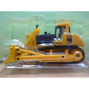 KOMATSU Guinea  Official DK-6102 Bulldozer D375A 1/55 Scale Model Heavy Equipment New