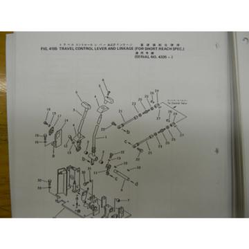 Komatsu Egypt  PC50-UU1 mini excavator parts manual
