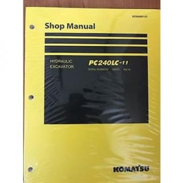 Komatsu Bahamas  PC240LC-11 Hydraulic Excavator Shop Repair Service Manual