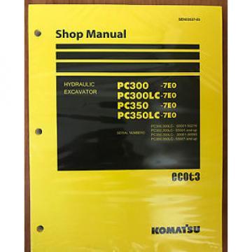 Komatsu Brazil PC300-7E0 PC300LC-7E0 PC350-7E0 PC350LC-7E0 Service Repair  Manual