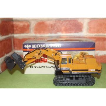 Komatsu Reunion  PC650  1/50 - Shinsei loading shovel excavator  made in japan   NOS