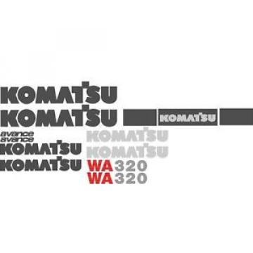 New Iran  Komatsu Wheel Loader WA320 Decal Set with Avance Decals