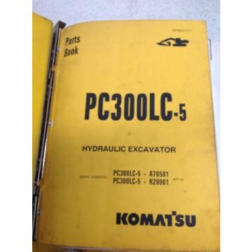 Komatsu Honduras  PC300LC-5, Hydraulic Excavator Parts Book BEPB207071