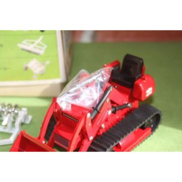 Komatsu SamoaWestern D20QF T-68 Bulldozer Tractor Toy w/Rear Ripper 1/50 Yonezawa Diapet NOS