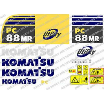 KOMATSU Botswana  PC88MR DIGGER DECAL STICKER SET