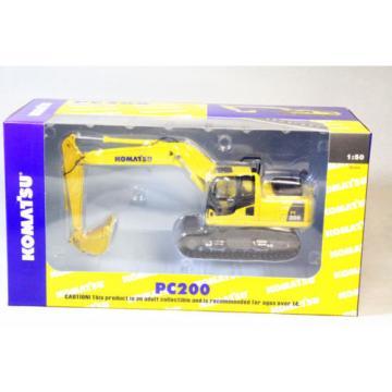 1/50 Botswana Scale Komatsu PC200 Excavator DieCast
