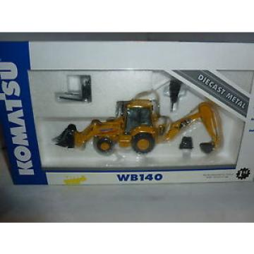 BRAND Moldova, Republic of  NEW 1ST GEAR KOMATSU DIECAST MODEL WB140 BACKHOE LOADER