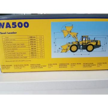 Komatsu Brazil  wa500 wheel loader die cast model