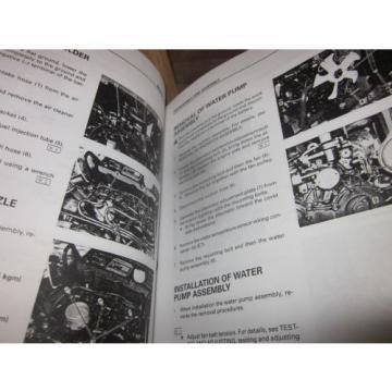 Komatsu Cuinea PC20MRX-1 Hydraulic Excavator Repair Shop Manual