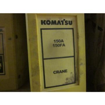 Komatsu Gambia  150A 150FA Crane Repair Shop Manual